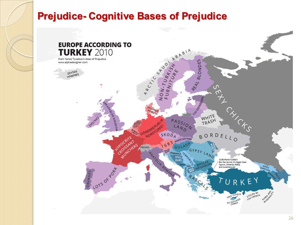 26 Prejudice- Cognitive Bases of Prejudice
