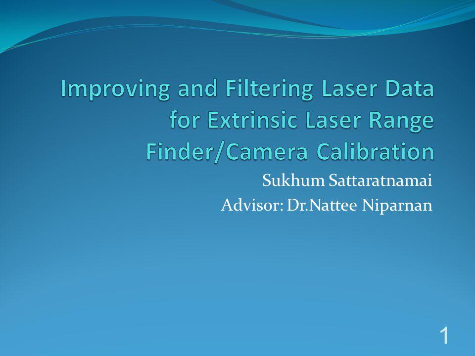 Sukhum Sattaratnamai Advisor: Dr.Nattee Niparnan 1