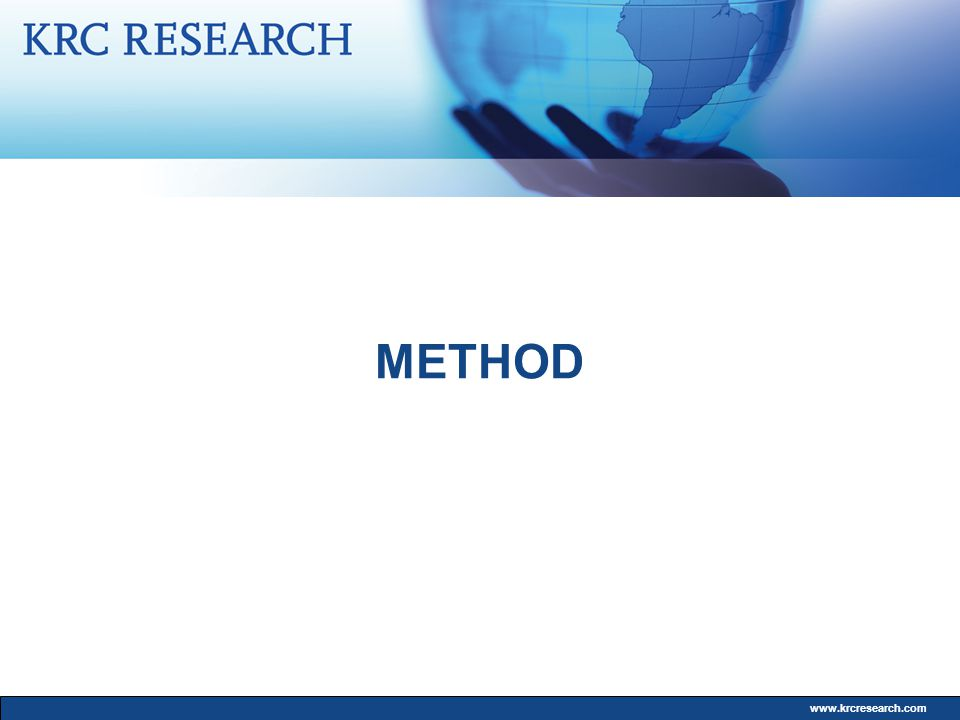 www.krcresearch.com METHOD