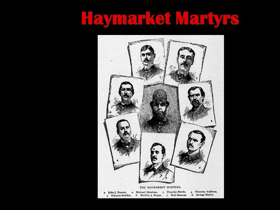 Haymarket Riot (1886) McCormick Harvesting Machine Co.