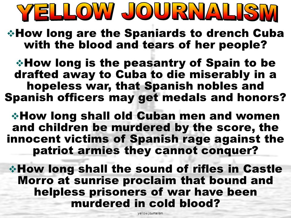 Spain controlled Cuba since 1500's. Cuban people were fighting a revolution against Spanish brutality Cubans wanted their independence from Spain 90 m