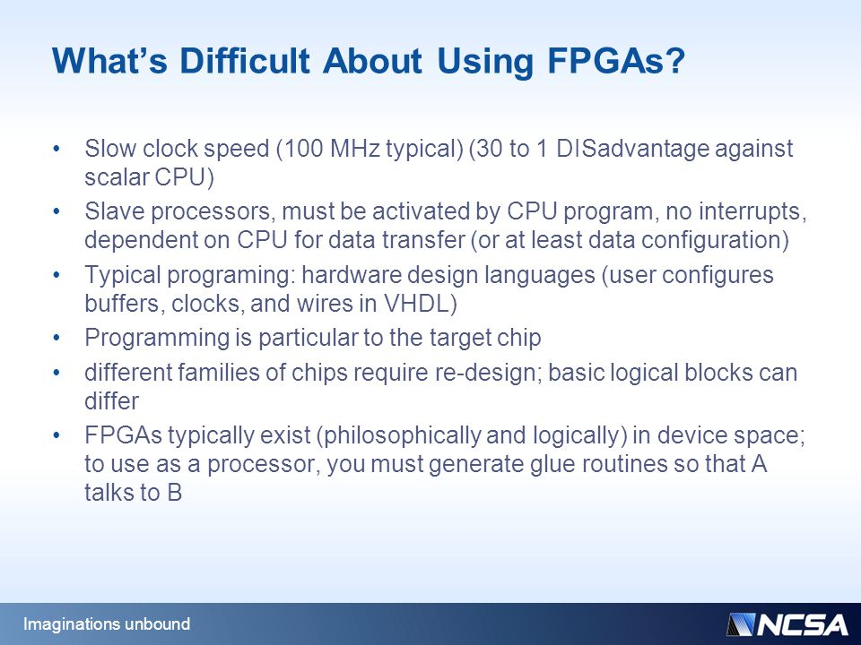 What's Difficult About Using FPGAs.