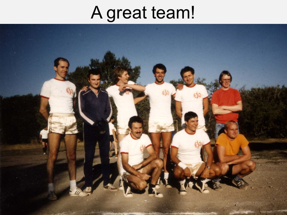 A great team!