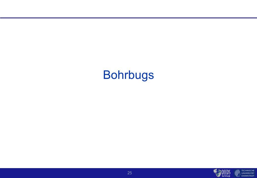 25 Bohrbugs