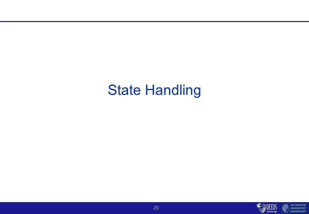 29 State Handling
