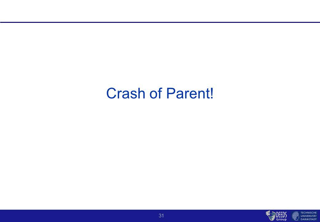 31 Crash of Parent!