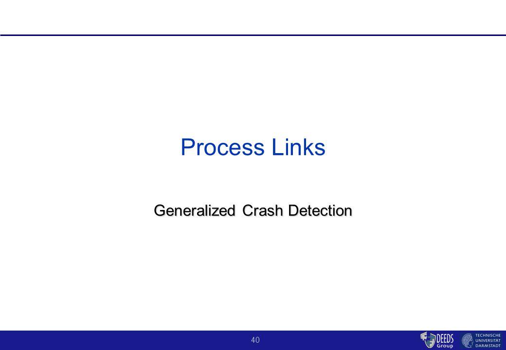 40 Process Links Generalized Crash Detection