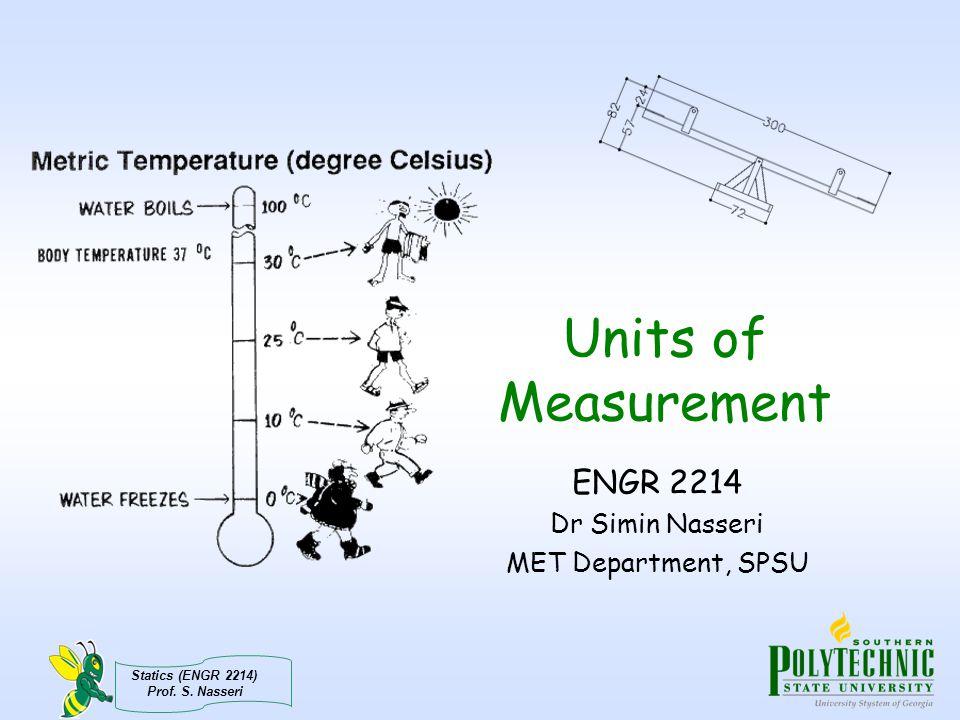 Statics (ENGR 2214) Prof.S.