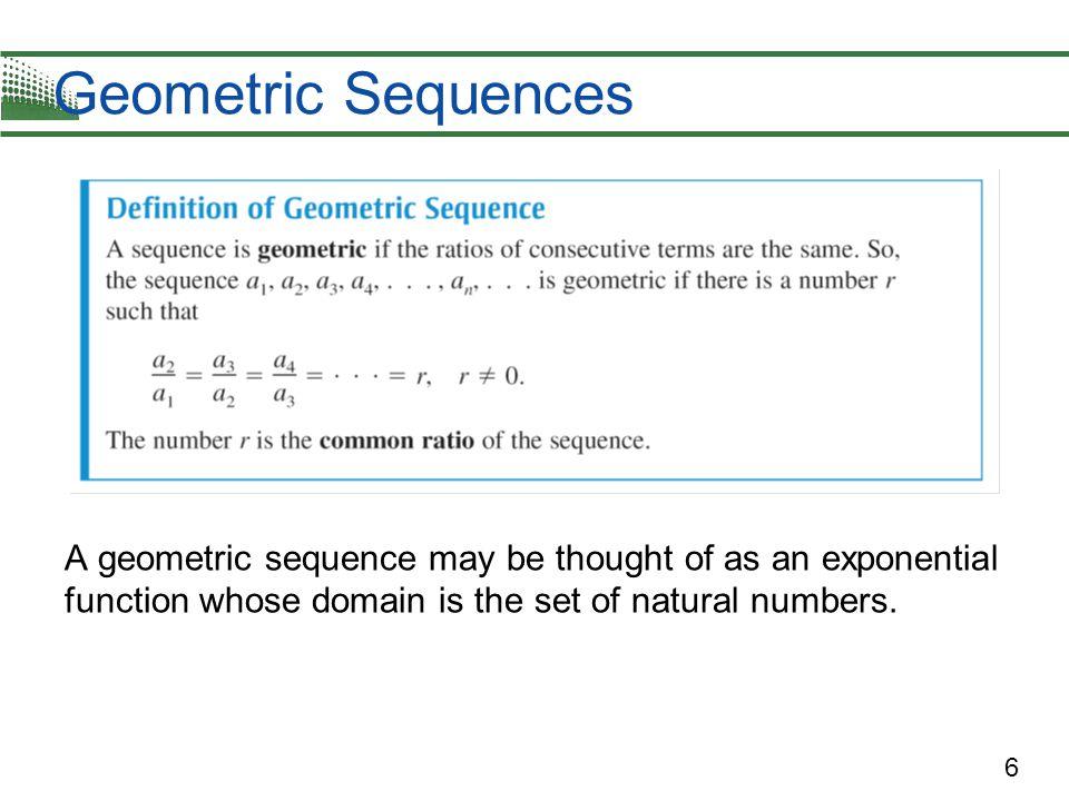 17 Geometric Series