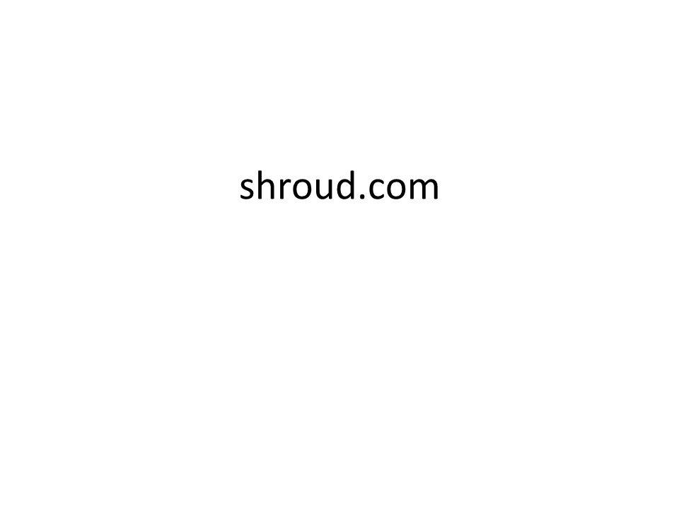 shroud.com
