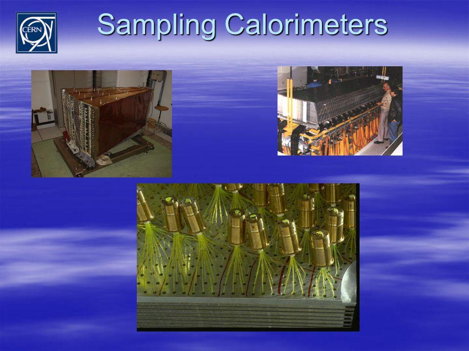 Sampling Calorimeters