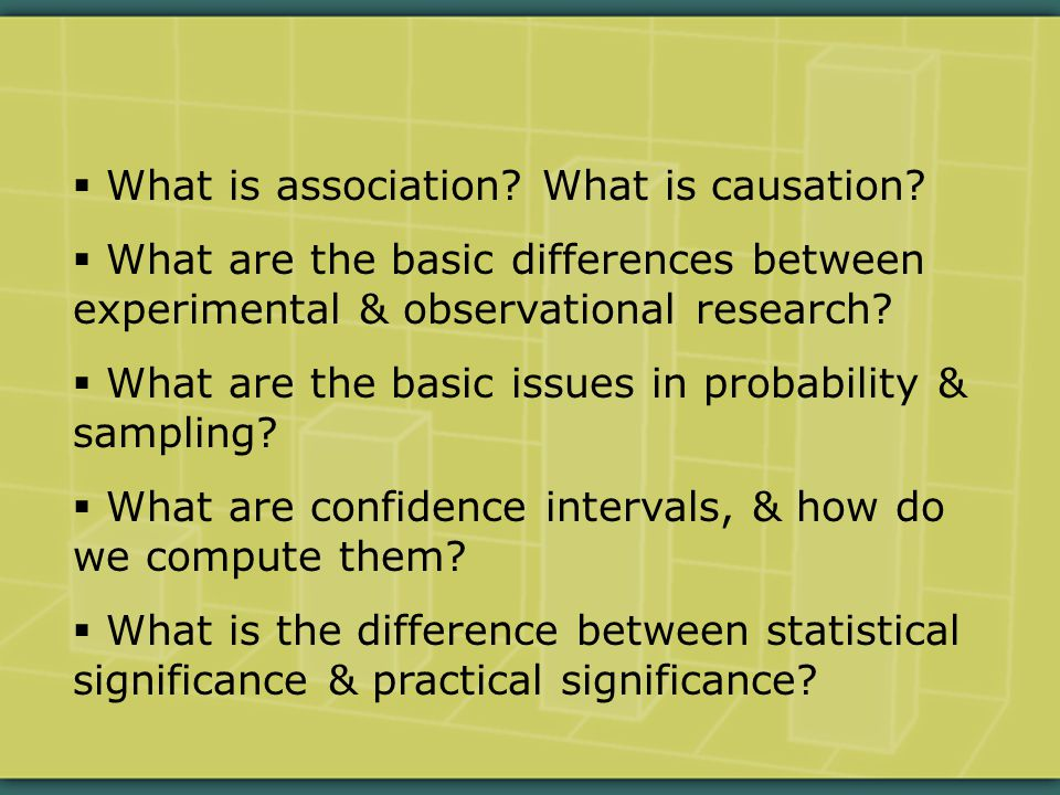  What is association.What is causation.