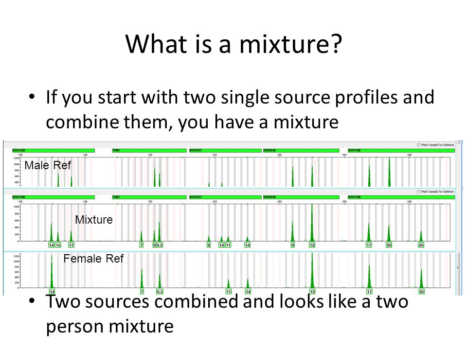 Three Person Mixtures These simple rules work for three person mixtures also Most (well, lots anyway) 3 person mixtures break down into simple patterns that we just discussed for 2 person mixtures – Rule 1 – Rule 2