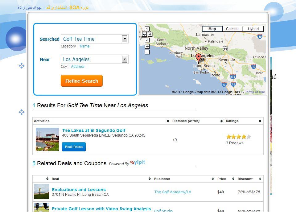 دوره SOA استانداری قم - جواد تقی زاده نمونه 5: www.actionzap.com  ActionZap  allows you to make online reservations with fun, customer recommended a