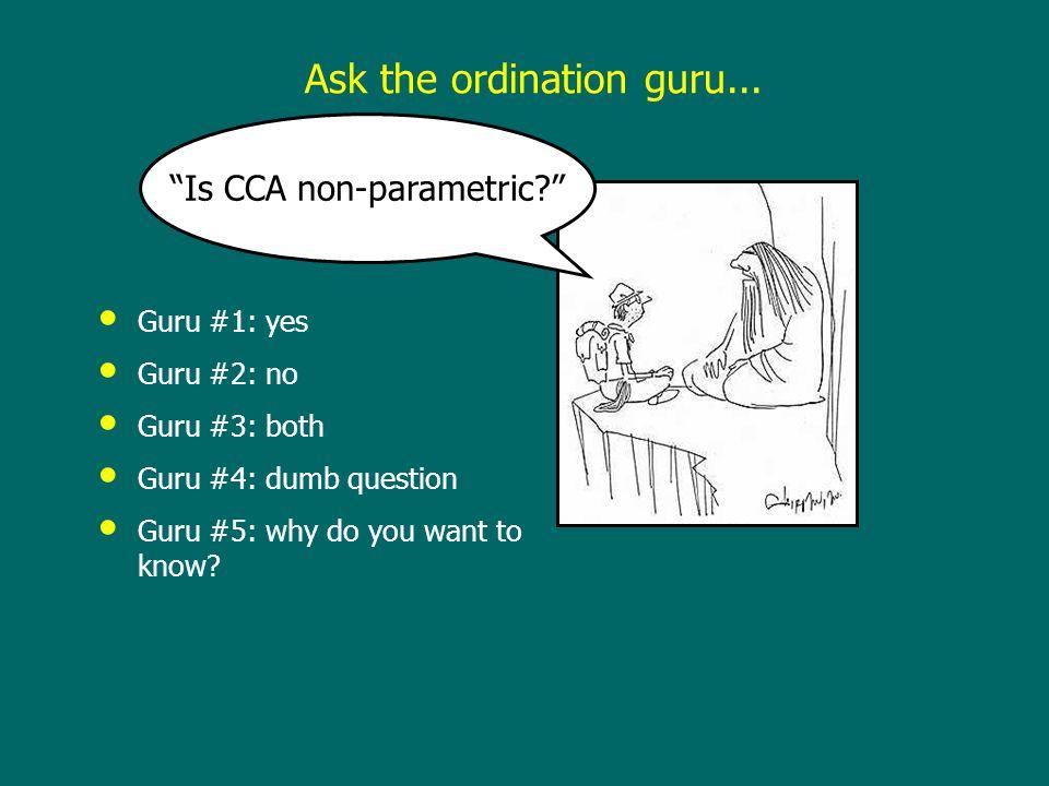 Guru #1: yes Guru #2: no Guru #3: both Guru #4: dumb question Guru #5: why do you want to know.