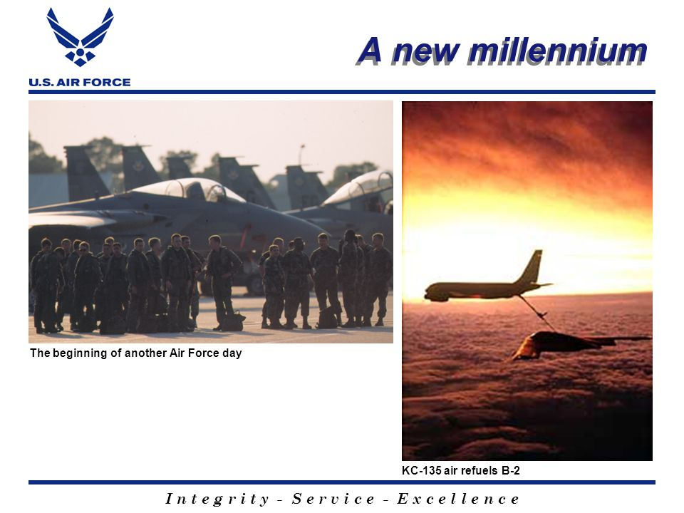 I n t e g r i t y - S e r v i c e - E x c e l l e n c e America's Air Force Summary Who We Are What We Do Core Values Air National Guard and Air Force Reserve