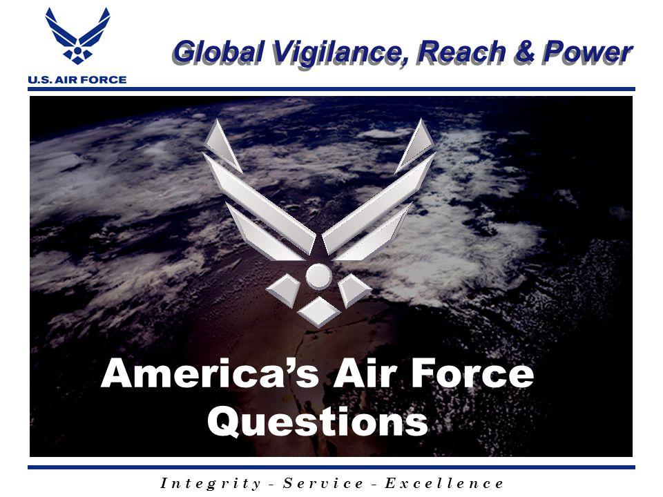 I n t e g r i t y - S e r v i c e - E x c e l l e n c e A new millennium The beginning of another Air Force day KC-135 air refuels B-2