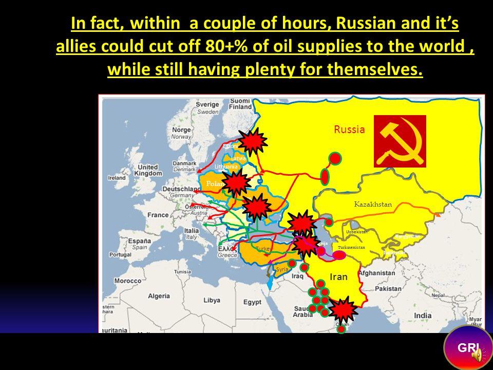 NEW ALLIES FOR Russia EU Pipeline Russian Pipeline China Pipeline Russia Romania Bulgaria Belarus Ukrain e Kazakhstan Uzbekistan Kyrgyzstan Tajikistan