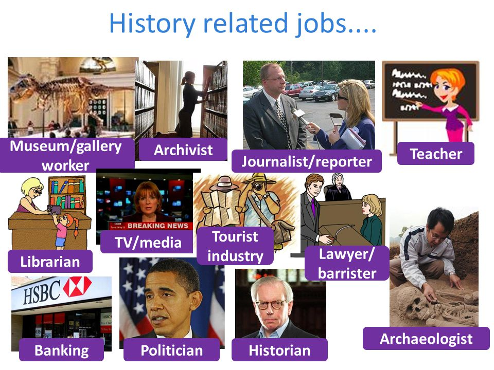 History related jobs....