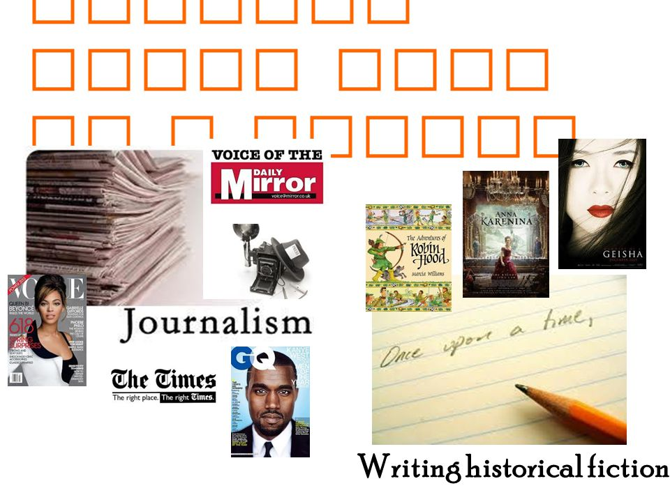 History + English could lead to a career in : Writing historical fiction