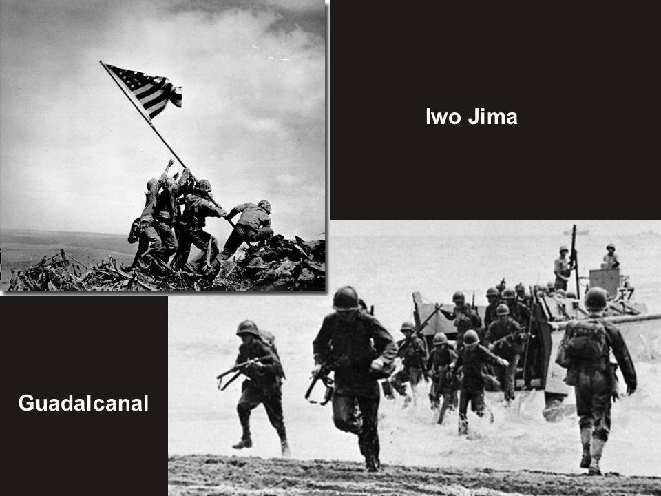 Iwo Jima Guadalcanal