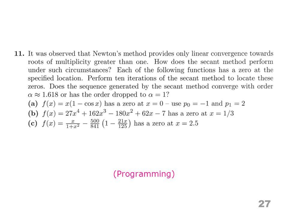 27 (Programming)