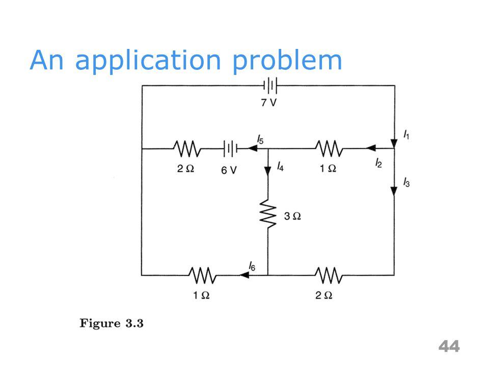 An application problem 44