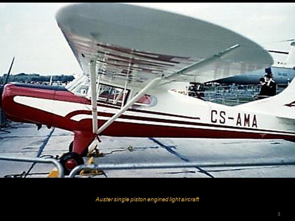 Auster single piston engined light aircraft 5