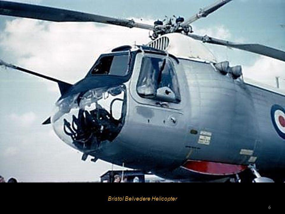 Bristol Belvedere Helicopter 6