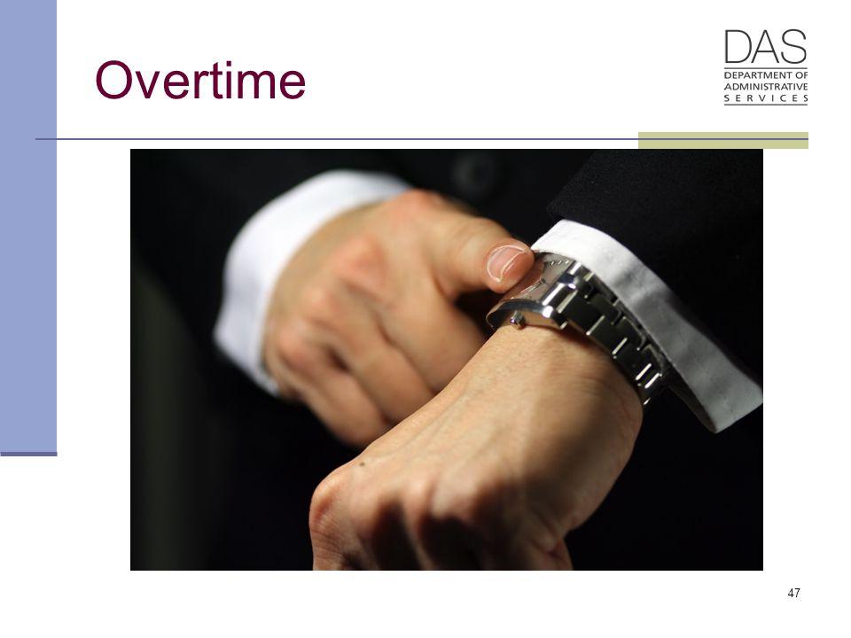 47 Overtime