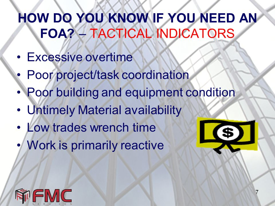 7 HOW DO YOU KNOW IF YOU NEED AN FOA.