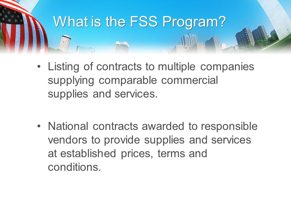 FSS 621I Professional & Allied Healthcare Staffing Services For existing orders, the new SCA rates/WD's will be effective the next option is exercised The WD's in effect October lst applies once the option is exercised - until the next option period.
