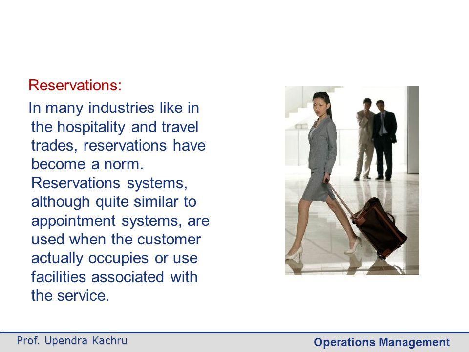 Operations Management Cont.