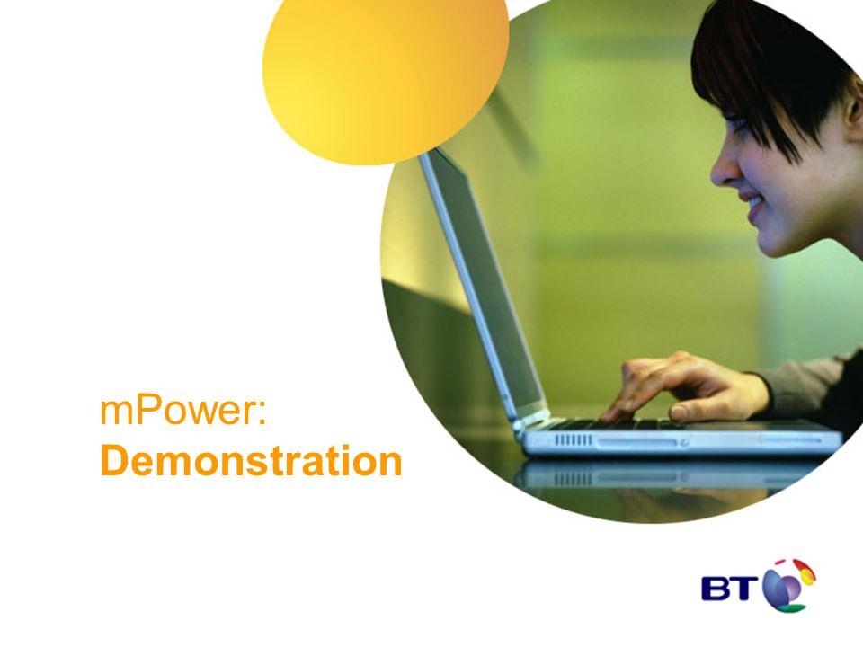 mPower: Demonstration