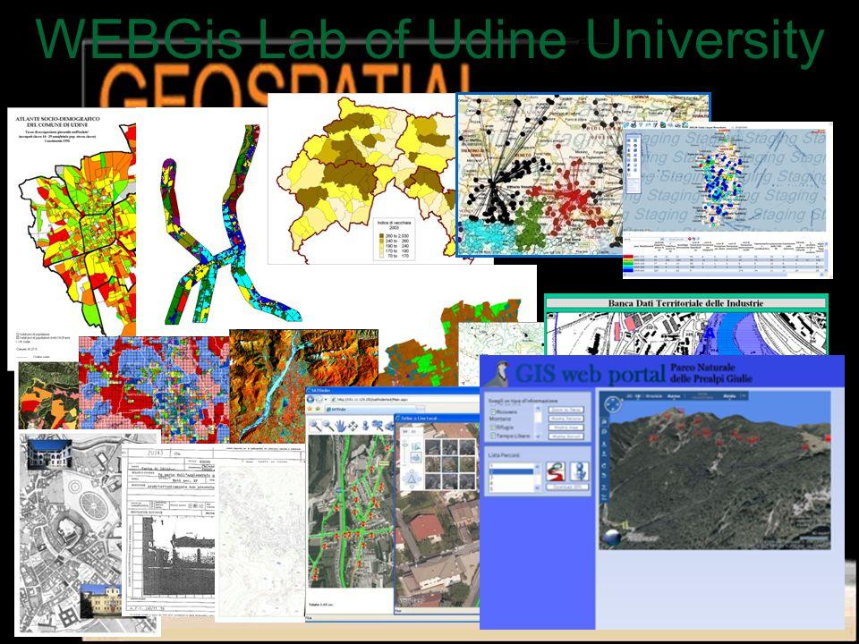 WEBGis Lab of Udine University