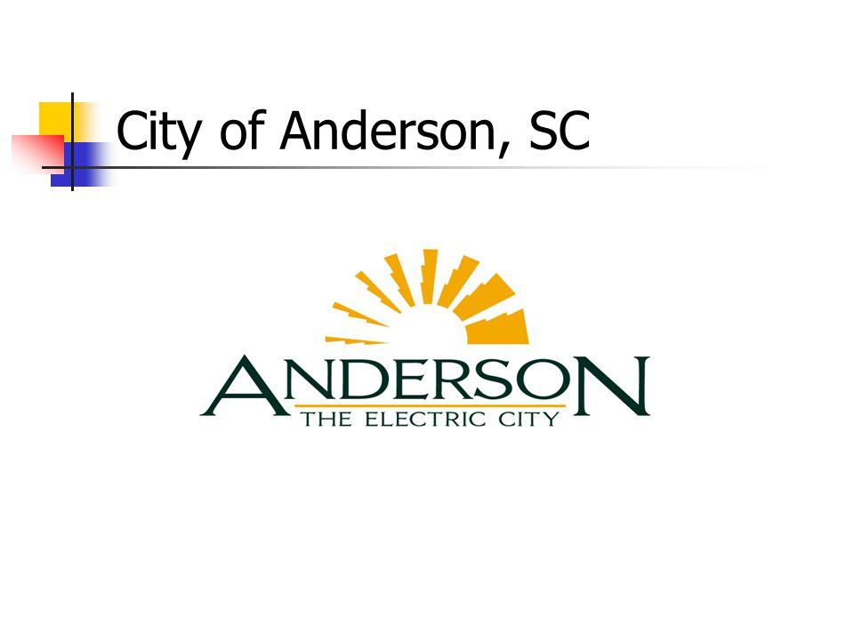 City of Anderson, SC