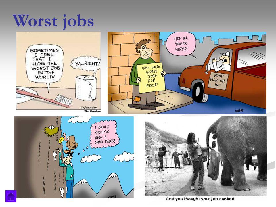 Worst jobs