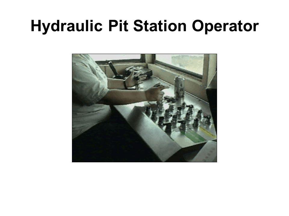 Hydraulic Pit Station Operator