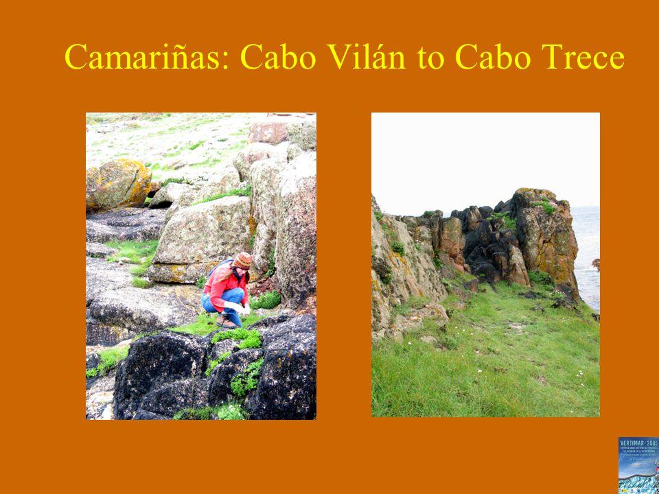Camariñas: Cabo Vilán to Cabo Trece