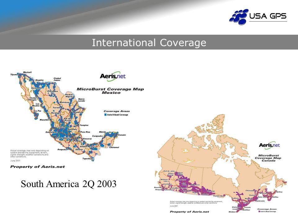 International Coverage South America 2Q 2003