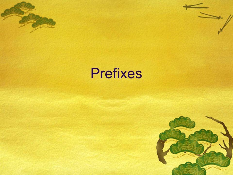pre-, means before  Preschoolbefore school  Precookbefore cooking  Prewritebefore writing  Preseasonbefore season