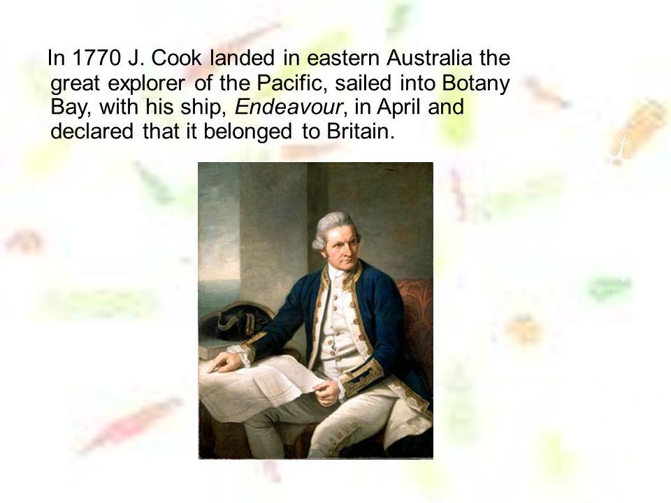 In 1770 J.