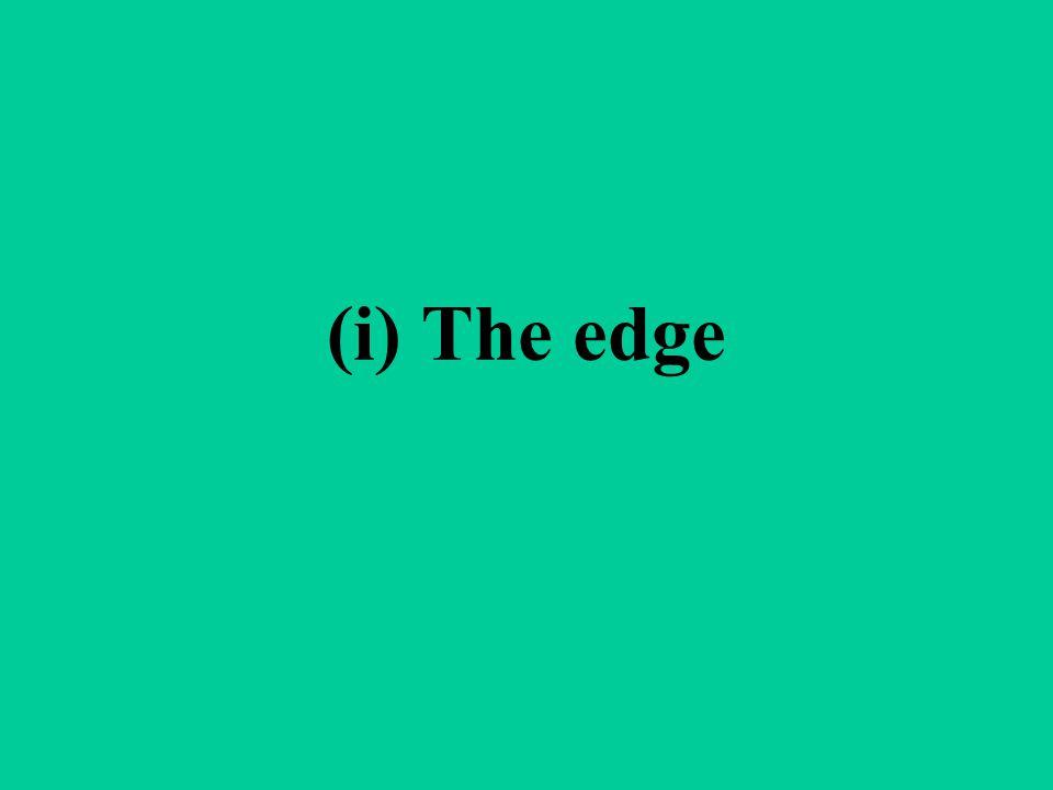 (i) The edge