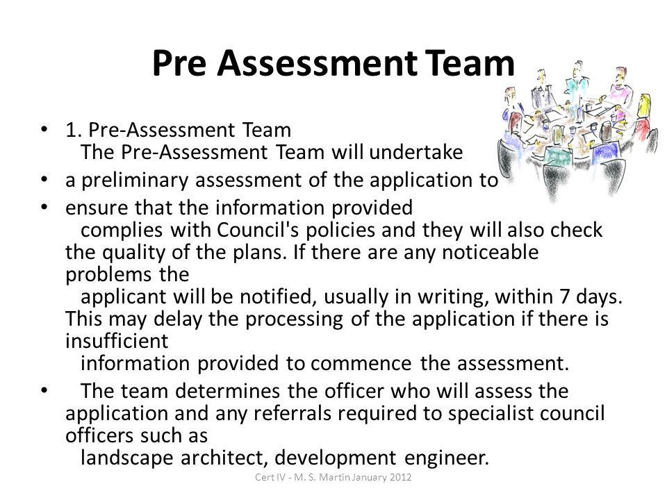 Pre Assessment Team 1.