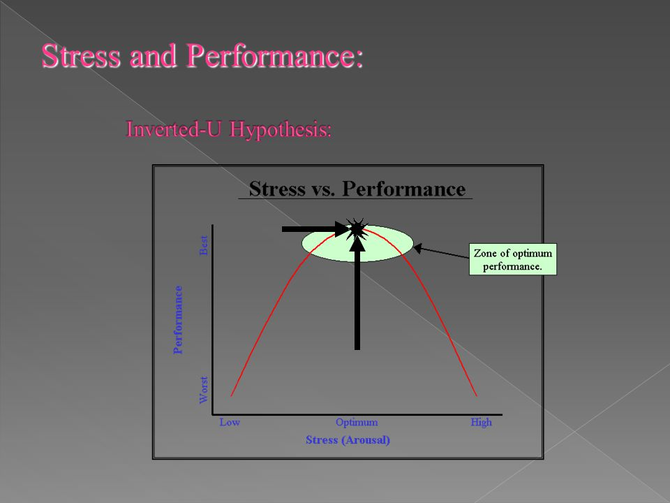 Stress and Performance: