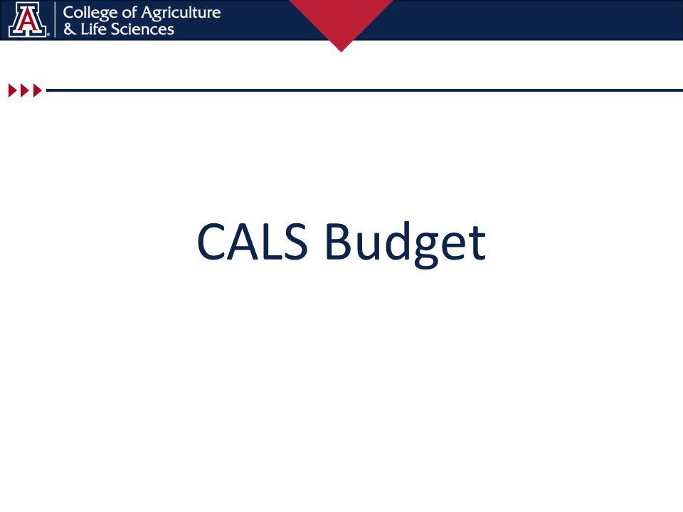 CALS Budget