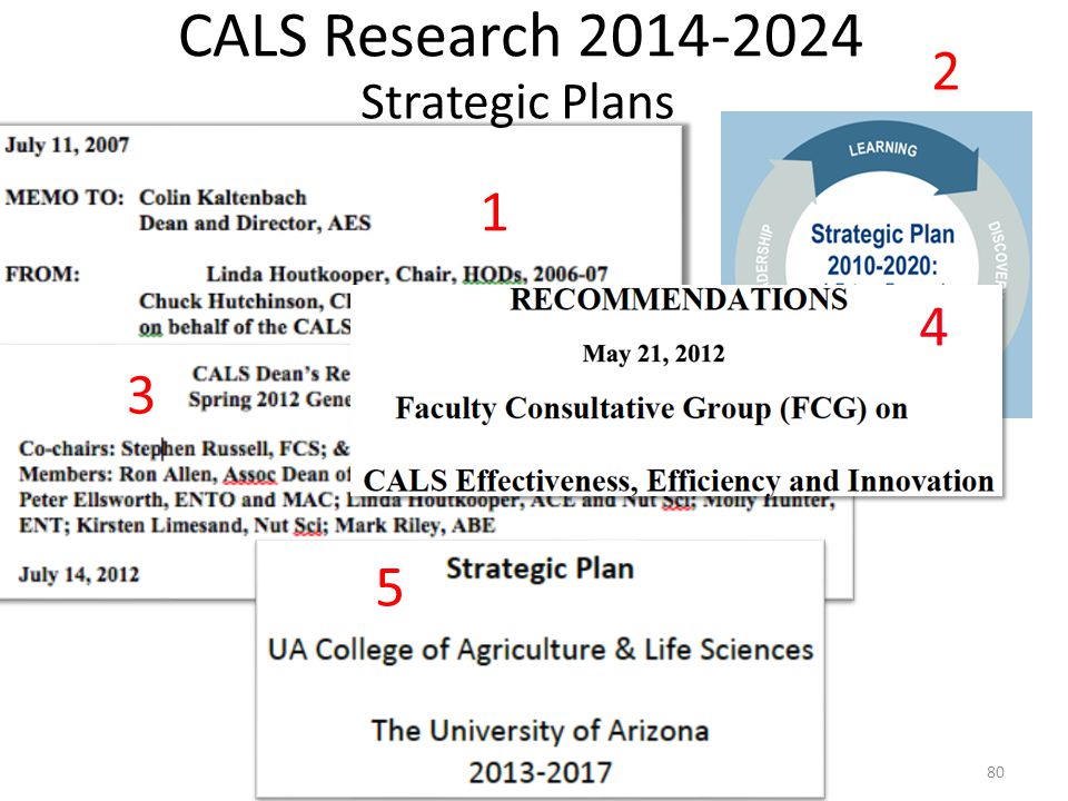 80 3 5 2 Strategic Plans 4 CALS Research 2014-2024