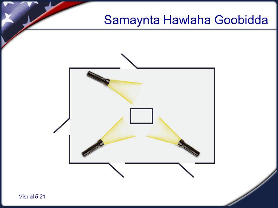Visual 5.21 Samaynta Hawlaha Goobidda