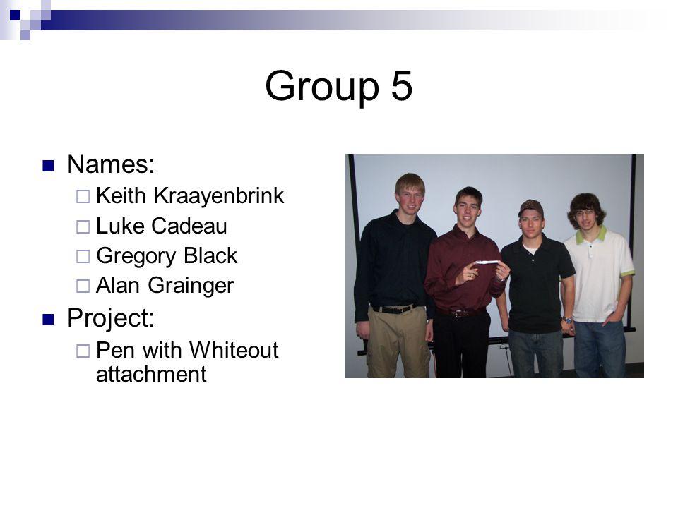 Group 6 Names:  Sam Kotanko  Tanner Jerreat-Poole  Joshua Bernick  Steven Veerman Project:  Carbage Can