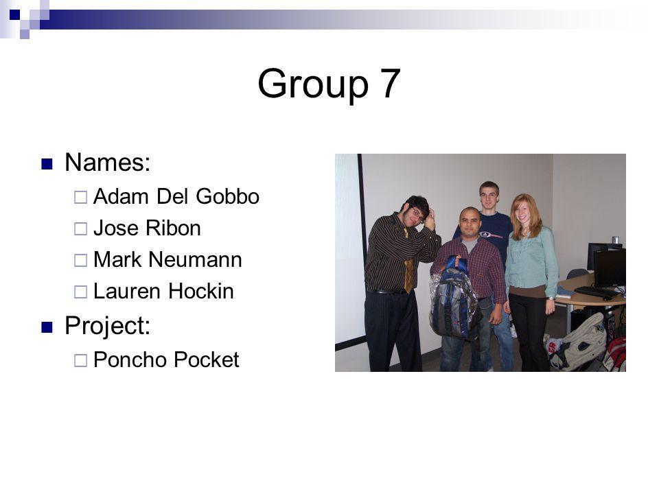 Group 8 Names:  Nicholas O'Bumsawin  Thanh Dinh  Jonathan Ripley  Rawda Al-Henedy Project:  Compact Pencil Case
